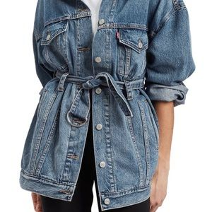 Levi's Jackets & Coats - Levi's Belted Trucker Jacket